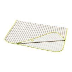 TUTIG Wickelunterlage, grau, weiß - 90x70 cm - IKEA