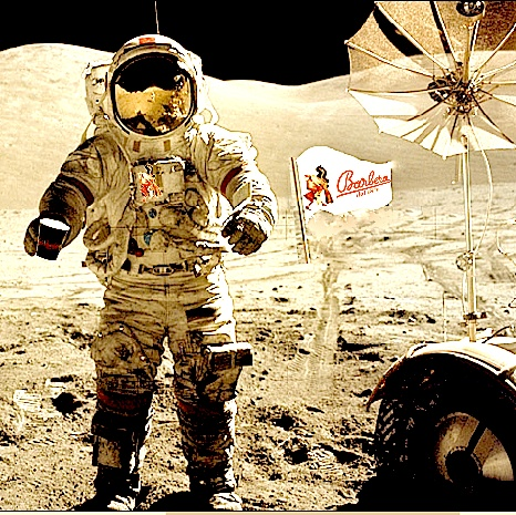 Boldly go where no coffee has gone before! Caffe' Barbera available also in the moon!!