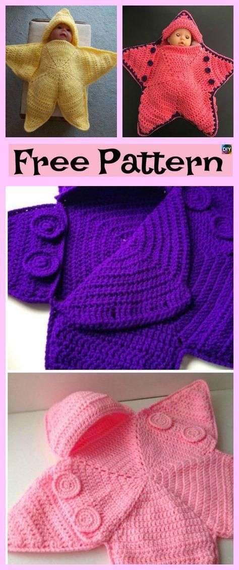 Cute Crochet Baby Star Bunting - Free Pattern | crochet babies ...