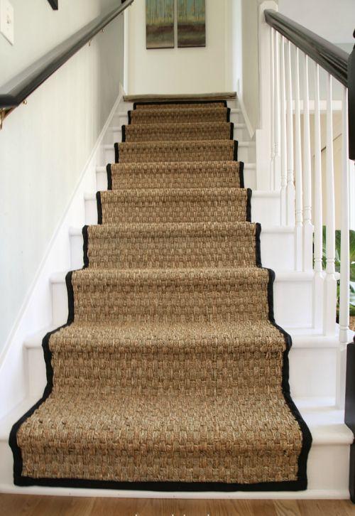 escalier jonc de mer pourquoi faire ce choix escalier pinterest jonc de mer moquette. Black Bedroom Furniture Sets. Home Design Ideas