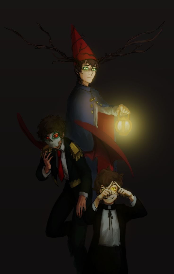 Freaks in Boys (Beast!Wirt of Over the Garden Wall, Día de Muertos Marco Diaz of Star vs. the Forces of Evil, Bipper of Gravity Falls)