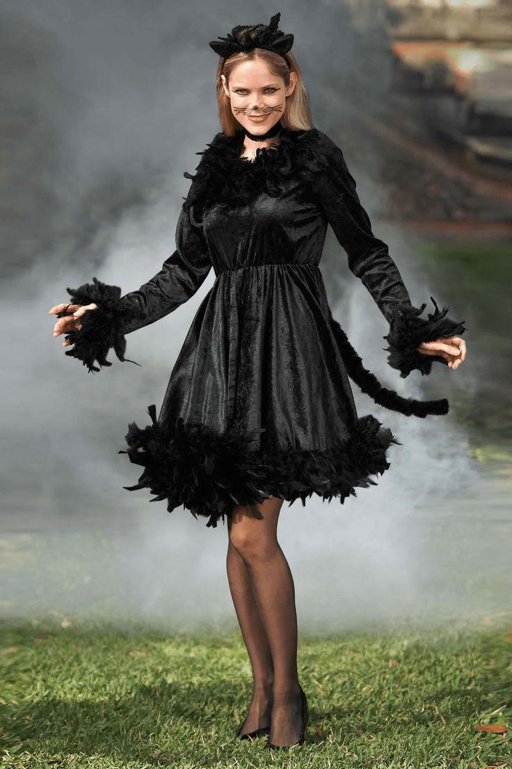 Black Cat Costume For Women | Chasing Fireflies