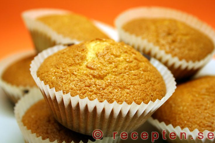 Kardemummamuffins med russin - Gott och enkelt recept på muffins kryddade med kardemumma. Både doftar och smakar gott! 20 st. Klara på mindre än 30 min.