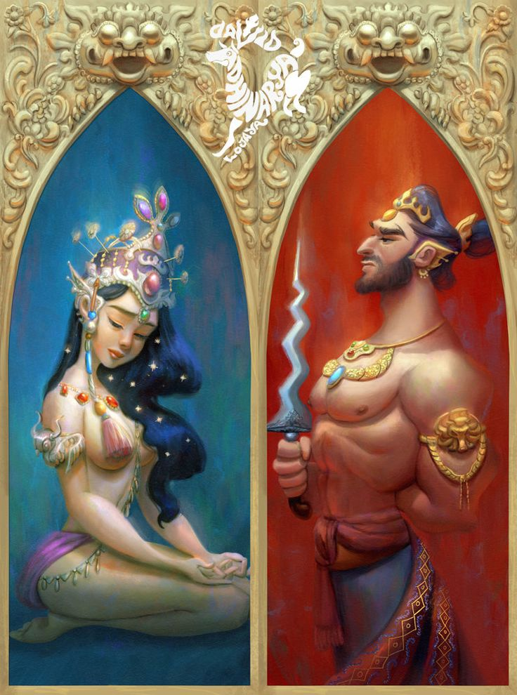 The Sad Princess and the Evil king, David Ardinaryas Lojaya on ArtStation at https://www.artstation.com/artwork/Ea5R8