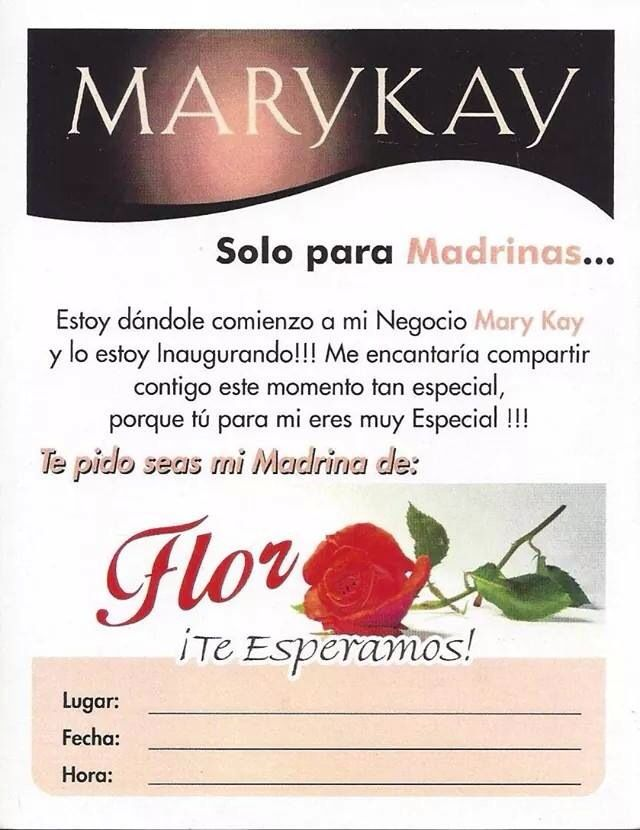 Mary Kay See More MADRIN FLOR MK