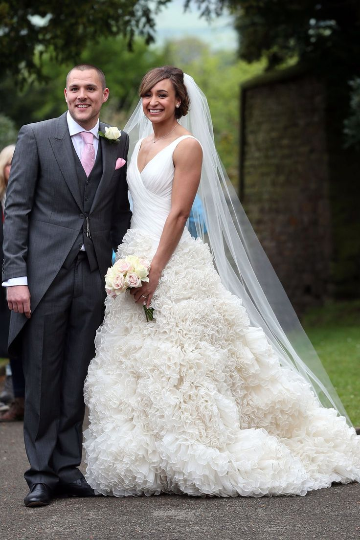Jessica Ennis Wedding Dress - Marries Andy Hill In Derbyshire (Vogue.com UK)