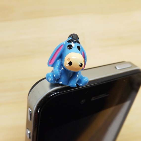 Cute Disney Blue Funny Donkey Friendship Anti Dust by Polaris798, $2.99
