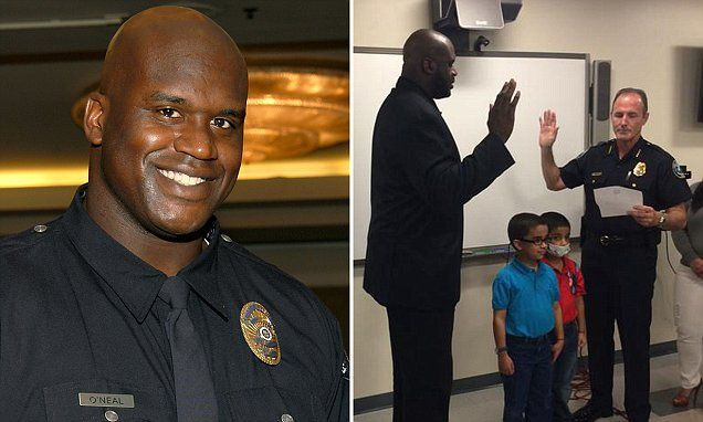 Shaquille O'Neal becomes reserve police officer in Florida