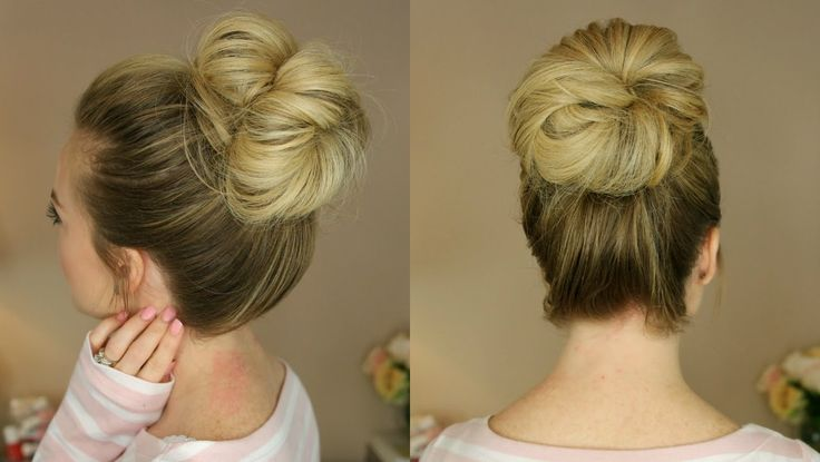3 Easy Messy Buns | Missy Sue