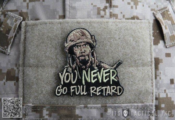You Never Go Full Retard Morale Patch