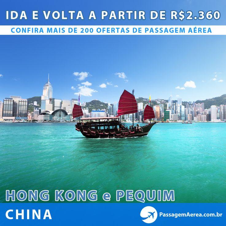 Promoção Imperdível para viajar para China! Mais de 200 ofertas com saídas de todo o Brasil no site.  http://www.passagemaerea.com.br/promocao-china-hongkong-pequim-2014.html