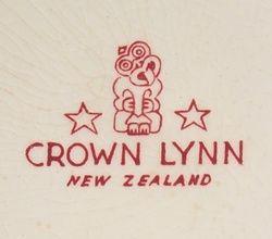 Marks from New Zealand ceramics manufacturer Crown Lynn.