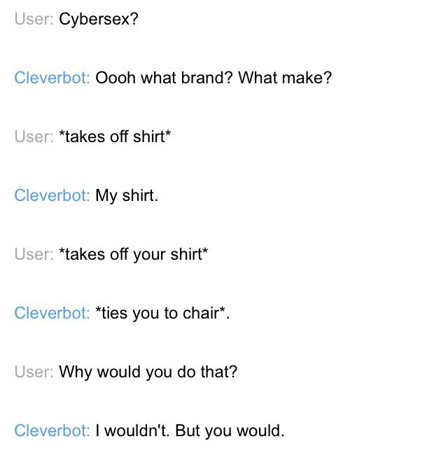 Cleverbot Cybersex xD