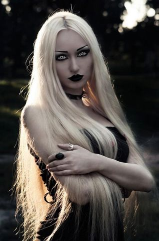 I adore long pale hair, male or female, it's truly striking.
