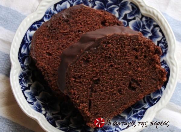 Ελβετικό κέικ σοκολάτας #sintagespareas
