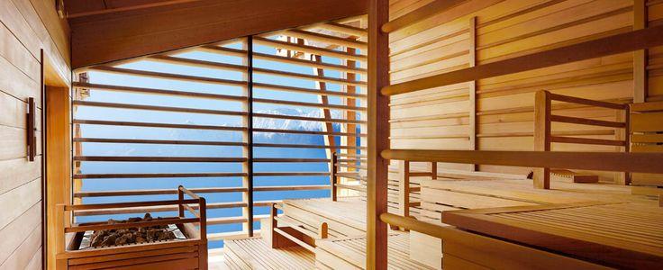 Sauna mit Fernsicht 2 ADLER Mountain Lodge | Seiser Alm | Dolomites | Italy