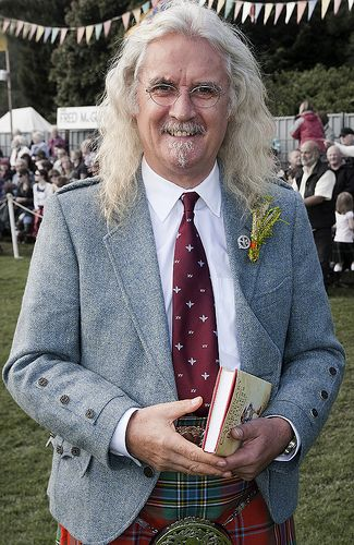 Scottish Comedian, Billy Connolly