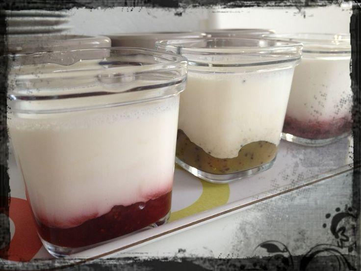 Wouahhhhh mes yaourts sont PARFAITS !!!! Ils sont terribles et sont vite partis ! Pour les confitures j'ai pris des faits maison :...