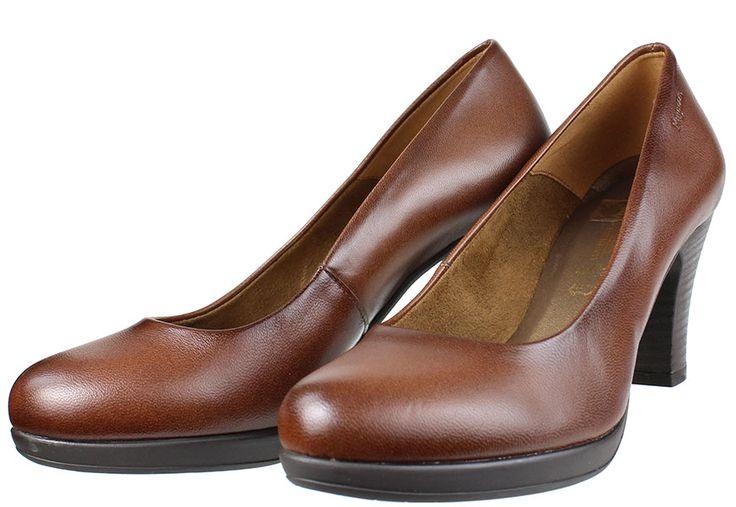 Γυναικείες γόβες RAGAZZA ελληνικής κατασκευής σε χρώμα ταμπά,ιδανική επιλογή και για χονδρά πόδια,τέλεια εφαρμογή....