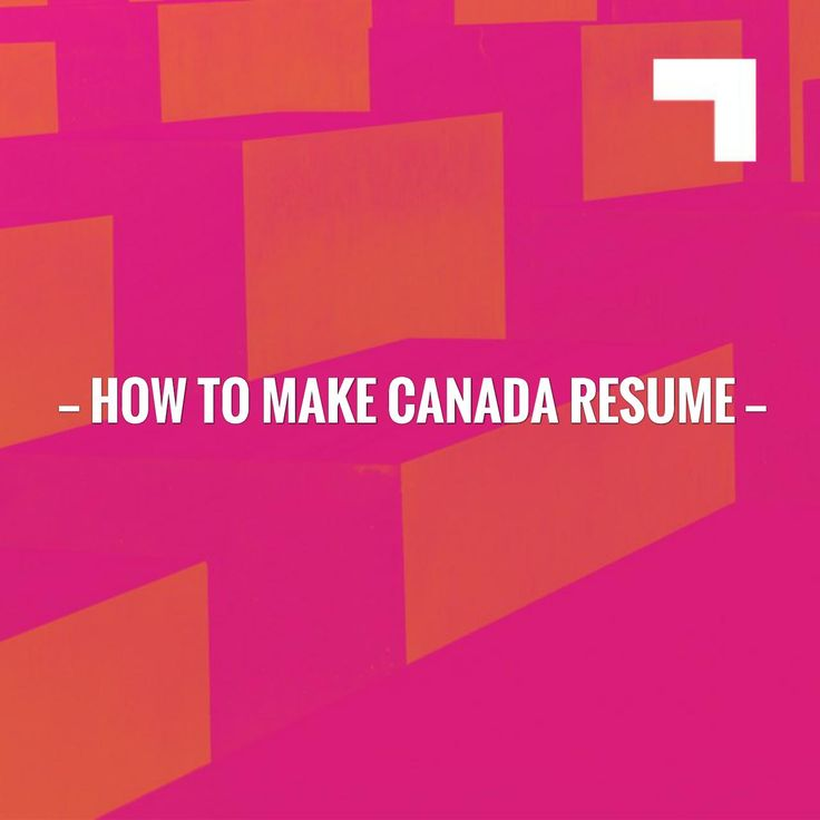 New on my blog! how to make Canada resume http://learn.jobisite.com/make-canada-resume/