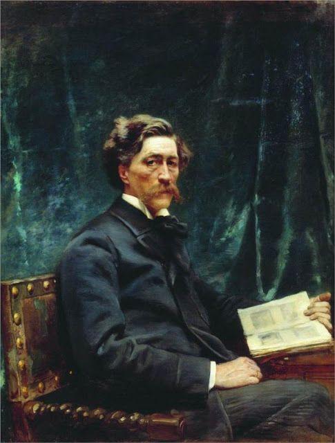 Πορτρέτο του S. Hudenkov 1890