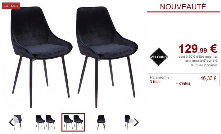 lot de 2 ou 6 chaises gondole masurie