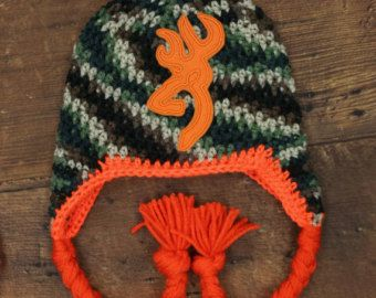camo hat deer hunting hat baby boy hunting hat little boy deer hunting hat