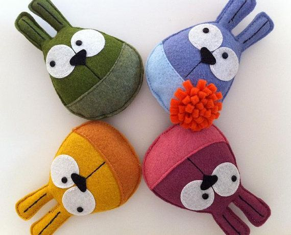 Ohh Sweet BunnyMe, The original Eco Brooch (Your choice of color).