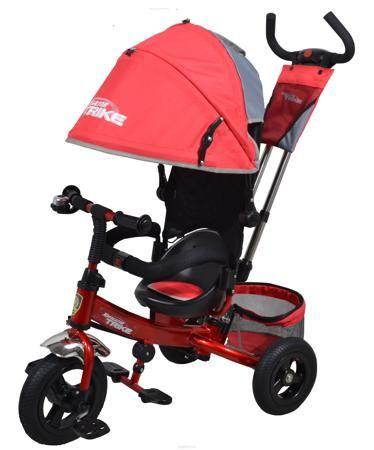 Navigator Трехколесный велосипед Lexus красный серый  — 9948р. - Популярная модель детского трехколесного велосипеда с ярким дизайном. Велосипед снабжен ручкой управления для родителей.