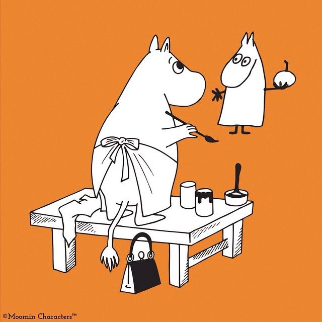 Have a great #Monday ! #tovejansson #Moomin #allthingsmoomin