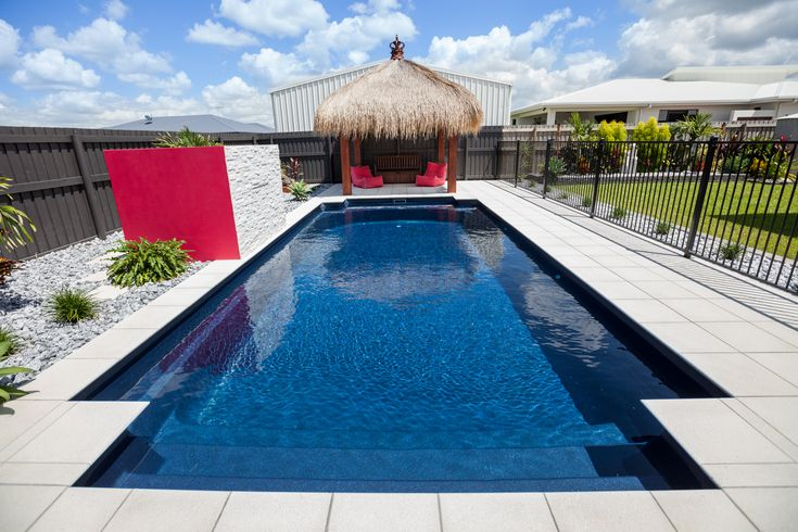 Narellan Pools Federation Pool Swimming Fibreglass Inground. geometric pool designs. design your own pool. swimming pool designs. pool patio designs.