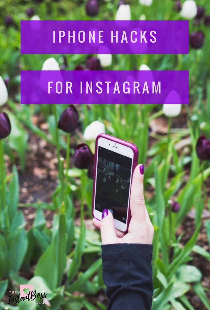iPhone Hack for Instagram