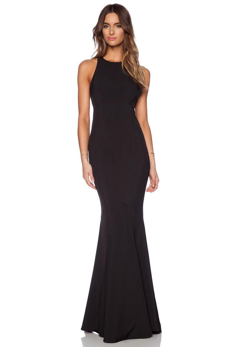 Black dress bridesmaid - Jarlo Carmelita Maxi Dress In Black Revolve