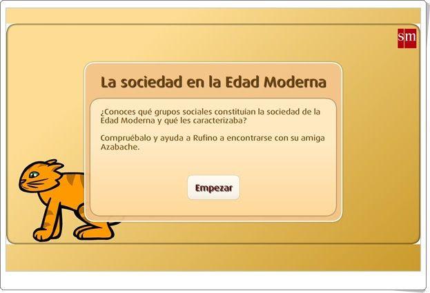 La sociedad en la Edad Moderna (Librosvivos S.M.)