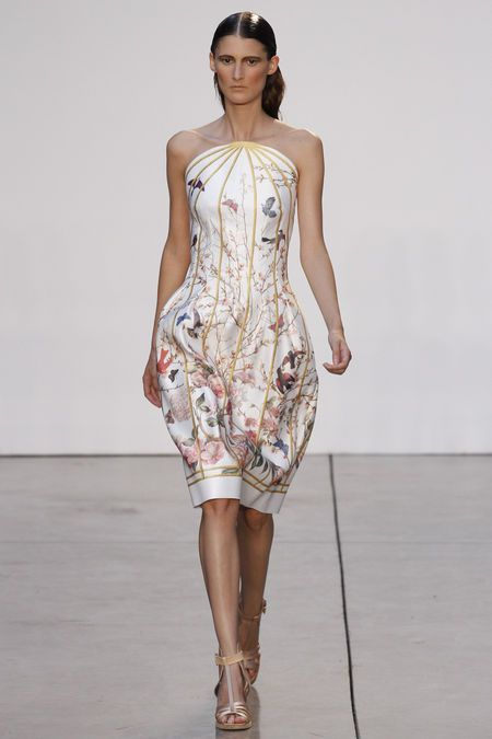 My heart flutters at the sight of this dress! Thakoon Spring 2013 NYFW: Birds Prints, S2013Rtw Fashion, 2013 Rtw, Ss2013, Fashion Week, New York Fashion, Spring 2013, Thakoon Spring, Ss 2013