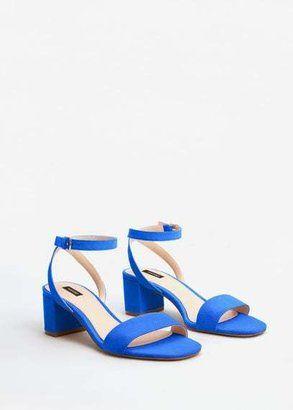 MANGO Ankle-cuff sandals - $49.99