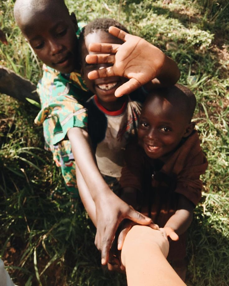 These children are reaching out toys as the children reached out for Jesus's hand in blessing