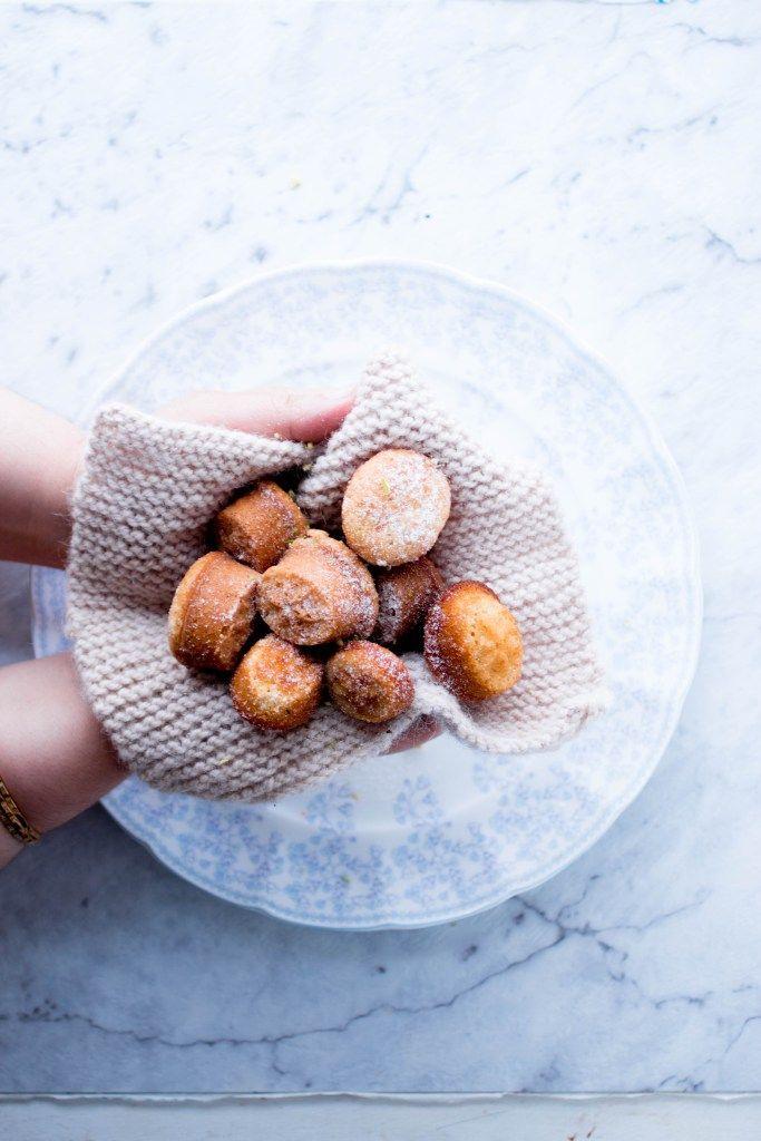 ... cinnamon mini muffins ...
