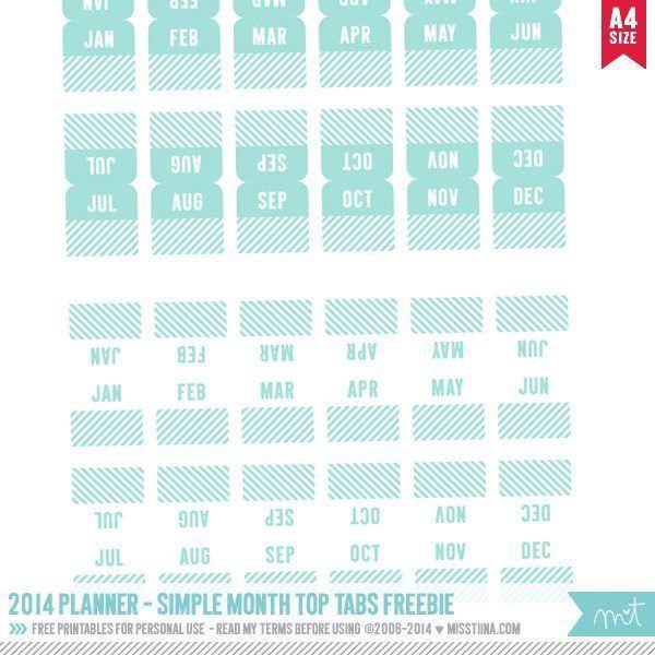 Best 25+ Planner tabs ideas on Pinterest | Printable tabs ...