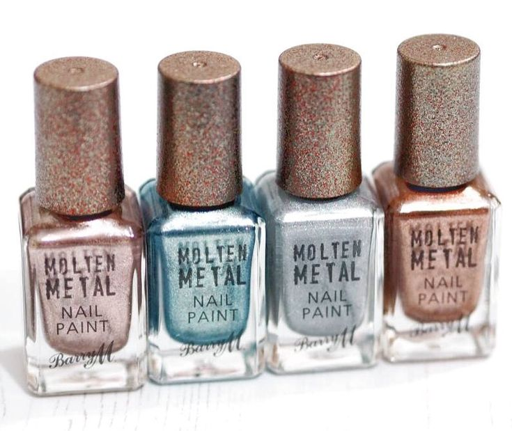 If you like metallic nail polish, you need to try the @barrymcosmetics Molten Metal Nail Paints  You can get these four shades within the 'Liquid Lustre' which is available from @argoshome for only £10.99  Who knew you could get Barry M from Argos?! ♀️