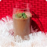 Mocha Mint   8 Tbsp Almased / 1 1/2 cup unsweetened almond milk / 1/4 cup cold coffee / 1 Tbsp fresh mint leaves or 1/2 tsp of mint extract / 2 tsp unsweetened cocoa powder / 1 tsp stevia (optional)