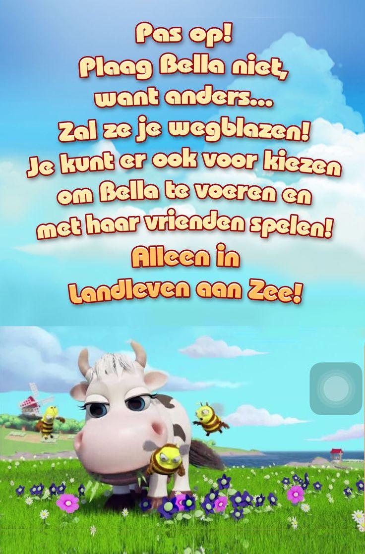 Heb jij al Landleven aan Zee gespeeld? Speel nu en wordt mijn buur, je kan mijn mooie boerderij bezoeken! Mijn koe,  Bella, is een TV-ster! Klik hier voor meer informatie!