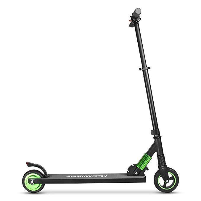 M Megawheels Elektro Scooter Faltbarer Elektroscooter Cityroller 250w 23km H Kurze Distanz Perfekt Fur Jugendliche Und Erw Elektroroller Elektro Scooter Roller