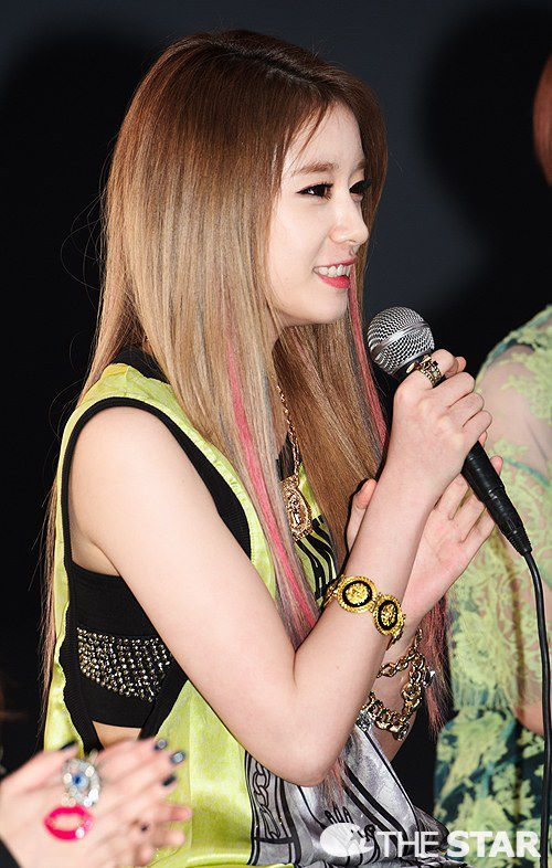 Park jiyeon chicas de ara