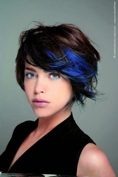 capelli punte blu - Cerca con Google
