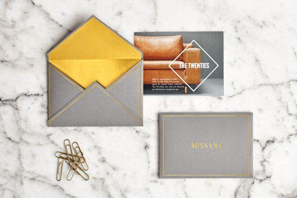 Envelopes and postcard.