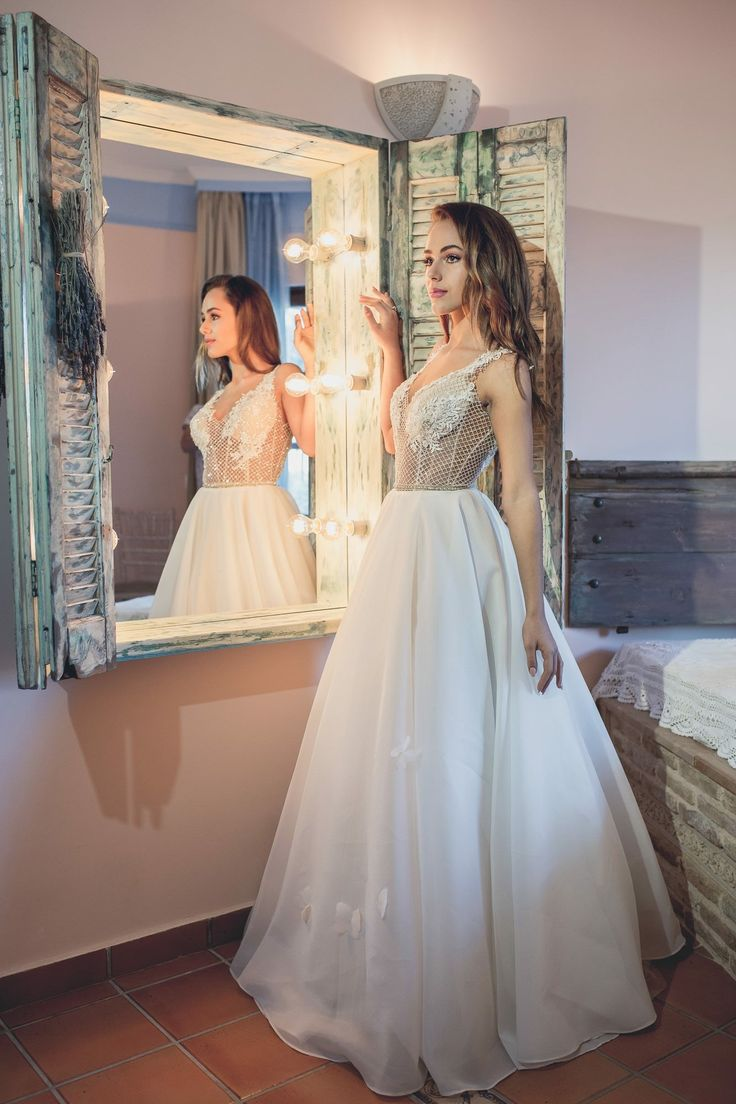 Exclusive Wedding dress by Noel Collection  Haute Couture designed and tailored in Greece