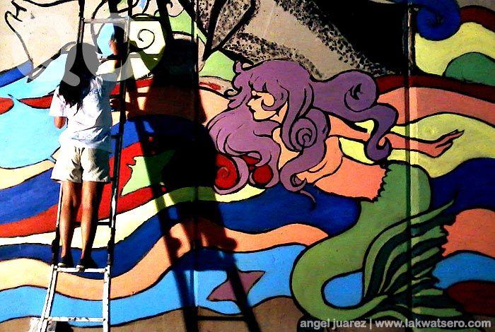 Giant Mural Painting in Quezon Avenue Tunnel: That S Soo, Soo Random, Photo, Latest Blog, Quezon Avenue