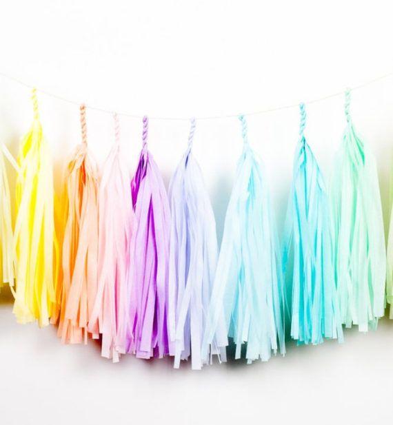 Die besten 25 regenbogen geburtstag ideen auf pinterest - Einhorn party ideen ...