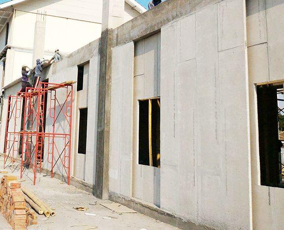 Eps Concrete Lightweight Partition Wall Panel Description Size Exterior Wall Panels Precast Concrete Panels Wall Paneling